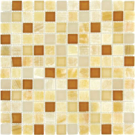 honey onyx tile backsplash ms international honey onyx caramel 12 in x 12 in x 8 mm