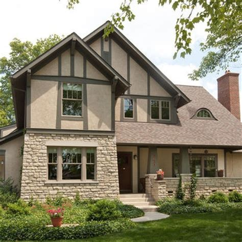 17 best images about modern tudor on stucco exterior paint colors and hearth