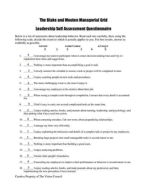 leadership survey form sle leadership 28 images