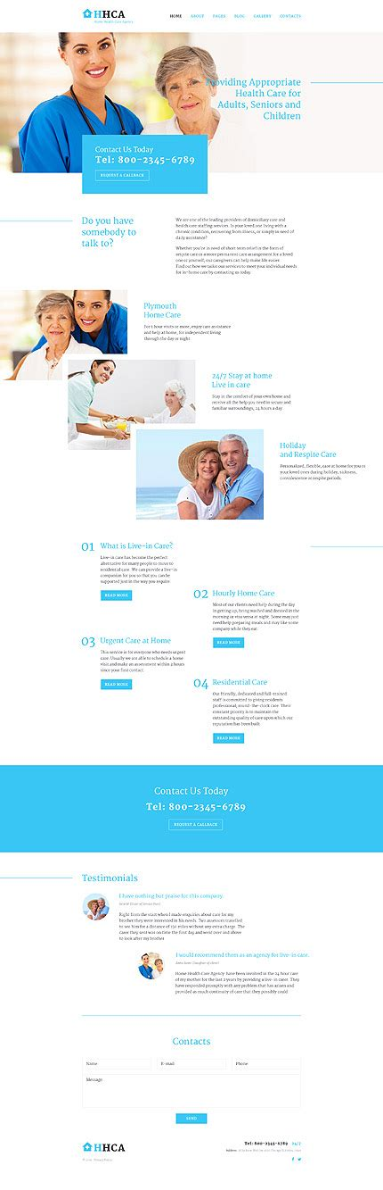 joomla template 58033 in medical category