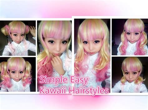 diy anime hairstyles kawaii hairstyles that will make anyone feel cute