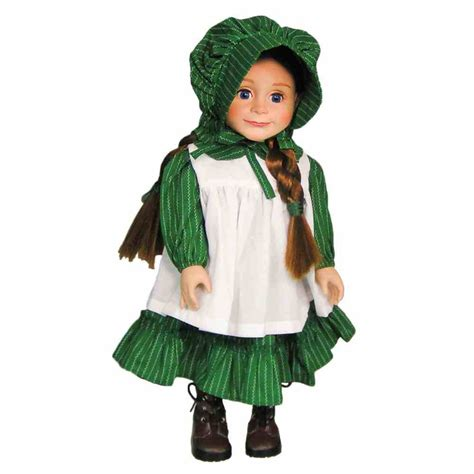 the dolls house clothing little house on the prairie 18 quot doll clothes fits american girl dress bonnet ebay