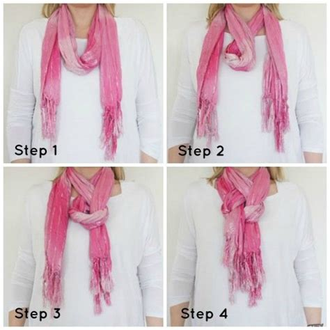 7 Ways To Tie A Scarf Or Pashmina by 9 Best Different Ways To Tie Scarf S Images On