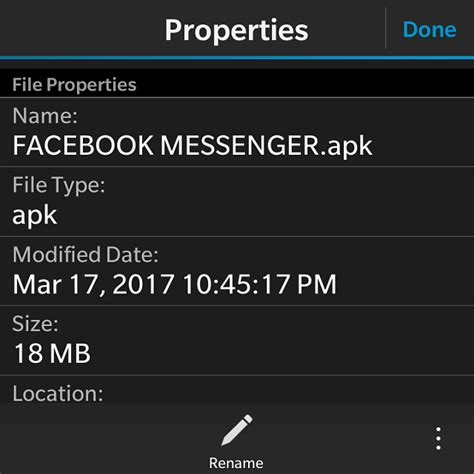 working apk of messenger for bb10 3 x best version page 2 blackberry forums at - Apk Fb Messenger