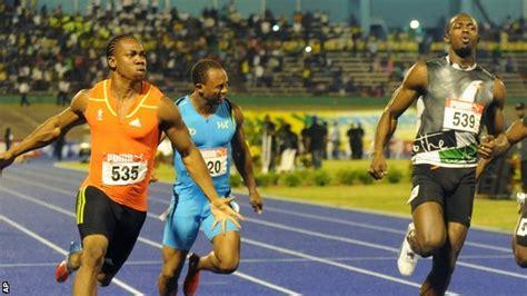 Hinomiya Beta Line Senar 100m sport usain bolt shocked by yohan s 100m olympic trials win