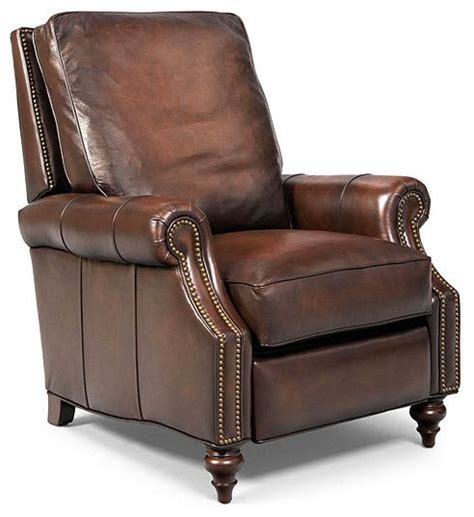 leather recliner armchairs madigan leather recliner chair traditional recliner