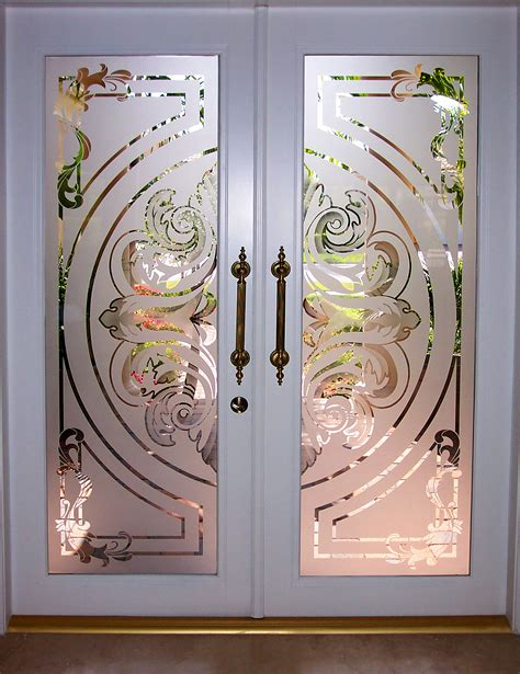 Glass Door Etching Stencils Glass Glass Etching On Site Glass Etching Boynton Florida