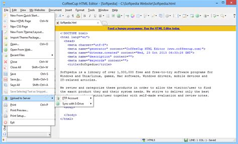 Html Editor Website Web Design Software Coffeecup | html editor website web design software coffeecup software