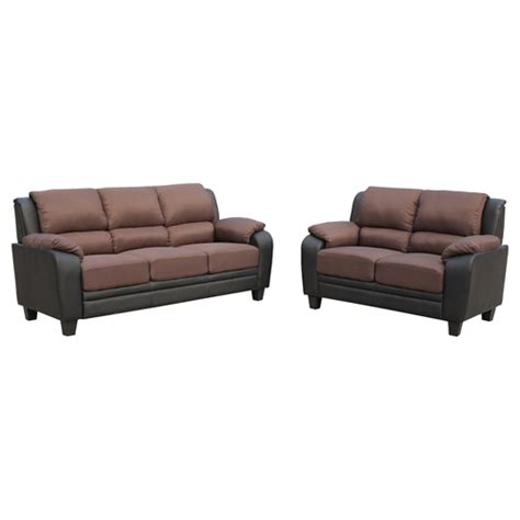 sabrina sofa sabrina sofa and loveseat black brown dcg stores