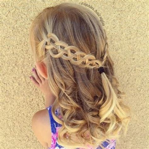 hairstyle ideas for toddlers with curly hair toddler girls new hairstyle creative ideas 2016