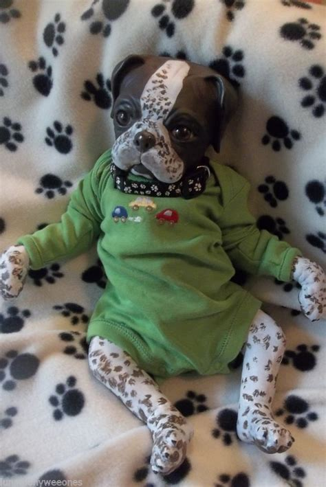 reborn puppy reborn pointer puppy doll ooak pup baby princess pug monkey baby princess