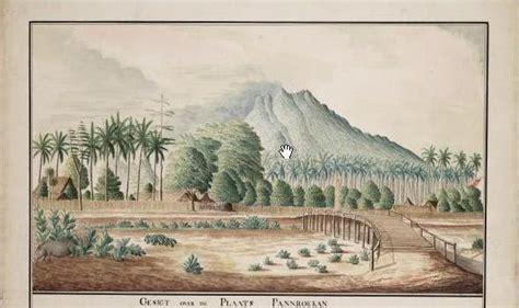 P W Gambar Putri Tidur sitoebondo tempo doeloe ilustrasi cat air gambar benteng