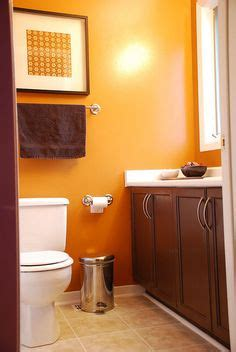 orange and brown bathroom sets 1000 images about bathroom color ideas on pinterest shower curtains better homes