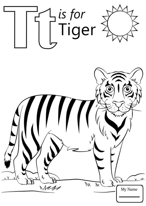 Letter T Coloring Pages For Adults by Letter T Coloring Page Free Printable Pages Animal For