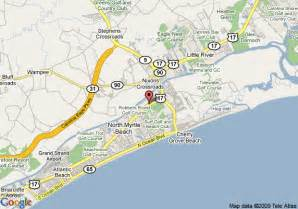 map of 8 motel n myrtle cherry grove