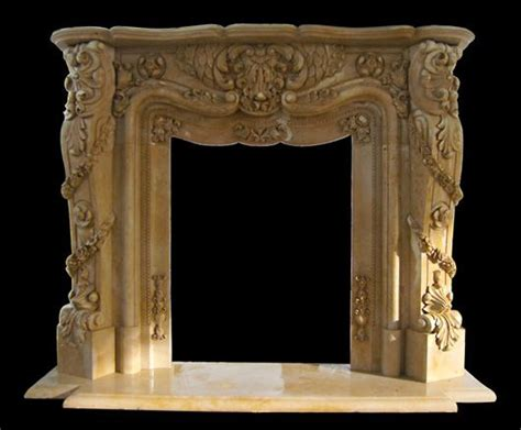 ornate fireplace marble fireplace floral carvings