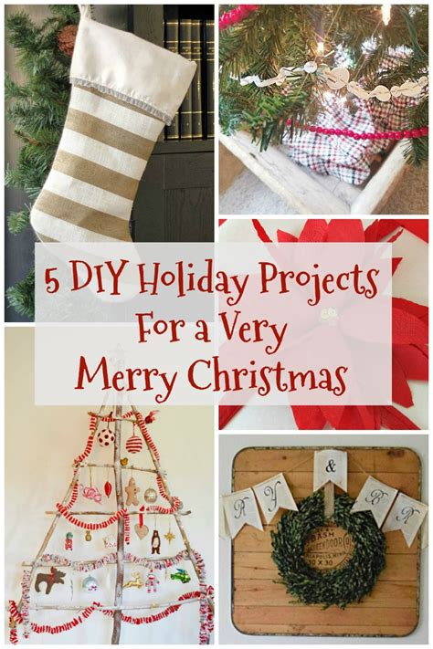 5 Midweek Diy Projects by 5 Diy Projects For A Merry
