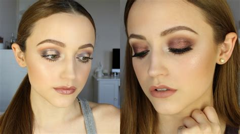 makeup tutorial two face two looks using too faced chocolate bar palette tutorial