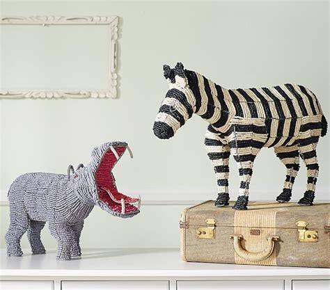 Animal Decor by Beaded Animal Decor Pottery Barn