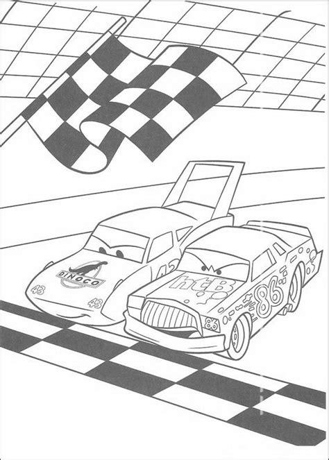 cars coloring pages the king kids n fun 84 kleurplaten van cars pixar