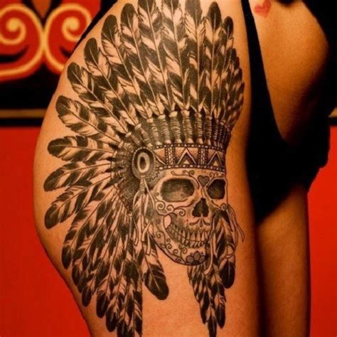 tatouage indien l am 233 rique sur la peau tattoome le
