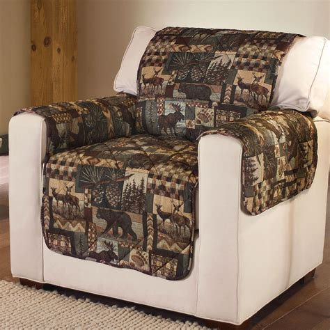 quilted couch cover lodge quilted microfiber pet furniture covers