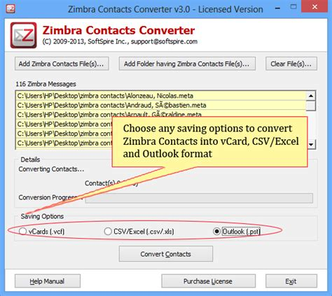 format csv en vcard how to convert zimbra contacts to outlook excel csv and vcard