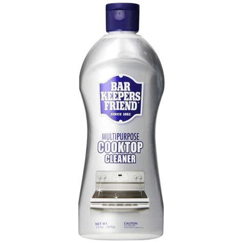 bar keepers friend stove top cleaner bar keepers friend cooktop cleaner 13 oz