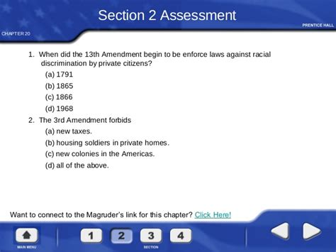 13th Amendment Section 2 by Civil Liberties Protecting Individual Rights