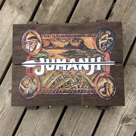 jumanji movie quiz jumanji inspired wooden board game 1 1 scale