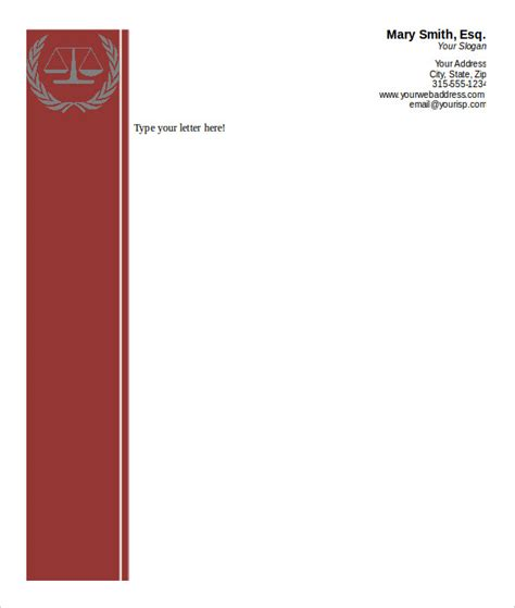 letterhead templates microsoft word convert your design