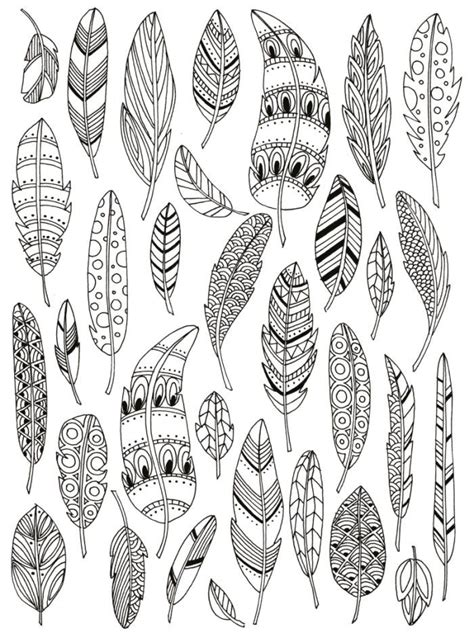 feather coloring page feathers colouring davlin publishing