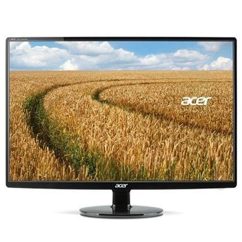 Monitor Lcd Acer 14 Inch Second acer s271hl dbid 27 inch screen lcd monitor