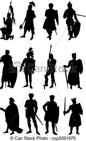 vetor de dois cavaleiros imagens de stock royalty free vetor eps de cavaleiro silhuetas 12 jogo de 12