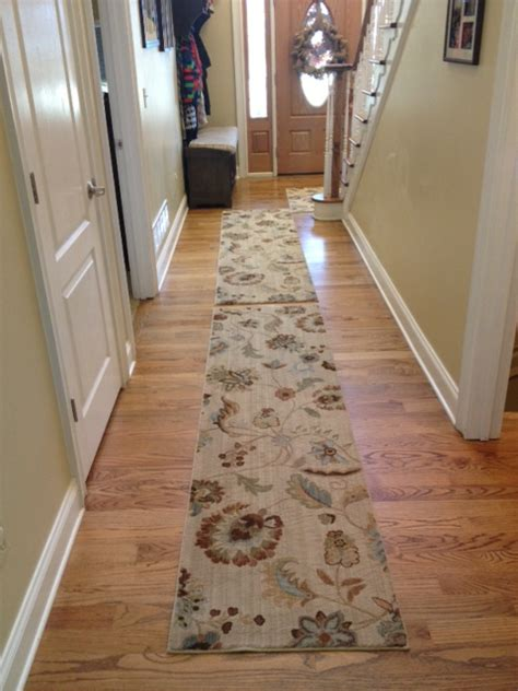 hallway rug rugs for pet owners before after mohawk homescapes mohawk homescapes