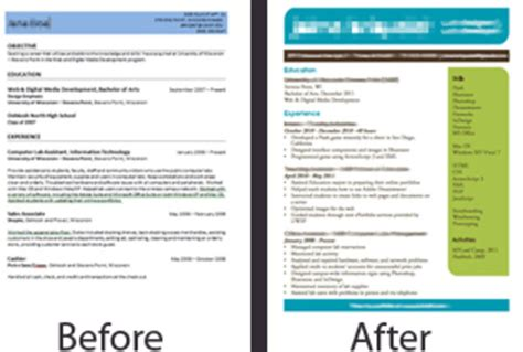 Fiverr Resume by Design An Eye Catching Resume Fiverr