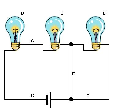 solved consider the circuit above which has three light