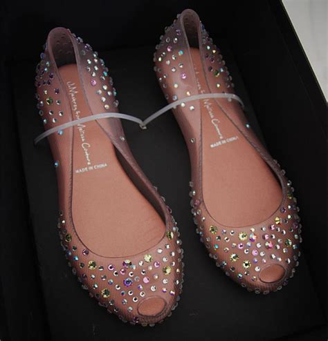 flat wedding shoes with bling free shipping fashion brand transparent