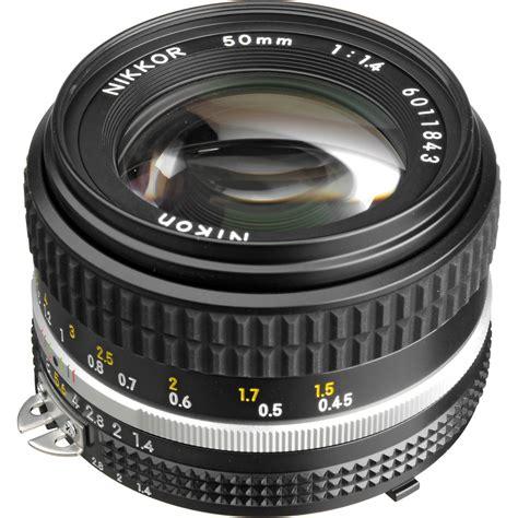 Nikon Lensa Af 50mm F 1 4d Hitam nikon nikkor 50mm f 1 4 lens 1433 b h photo