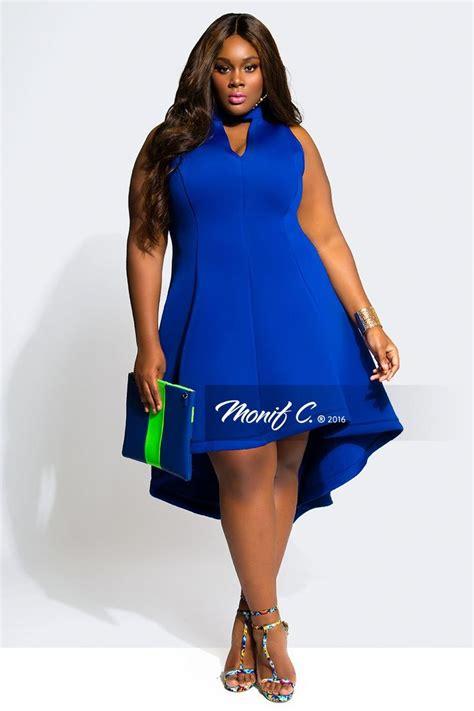 by plus size monif clarke great blue plus size dress monif c beauty fashion