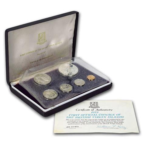 Virgon Set 1973 Islands 6 Proof Set Silver