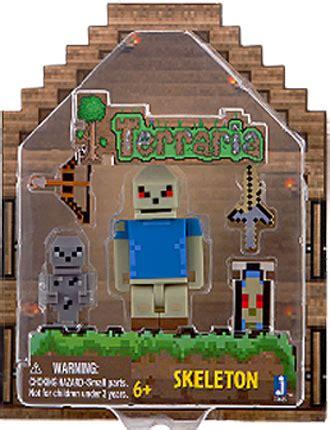 Terraria Gold Armor Player Series 1 Figure New Sealed 2015 skeleton figure terraria jazwares