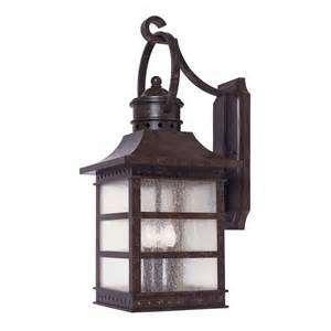Rustic Outdoor Wall Lights savoy house rustic bronze outdoor wall light 5 441 72