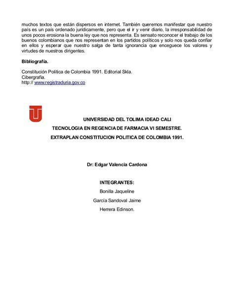 preguntas generadoras de constitucion politica politica de colombia 4 cipas 2