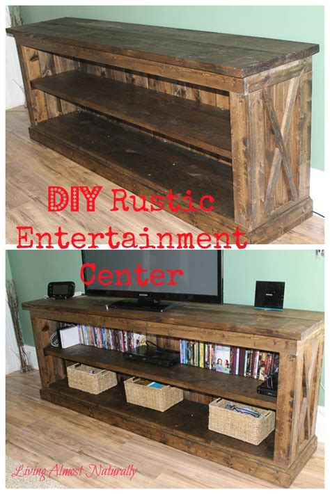 Entertainment Center Ideas Diy by Best 25 Rustic Entertainment Centers Ideas On Pinterest