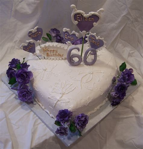 How To Decorate A Cake At Home Easy Heart Shaped Cake With Purple Roses And Victorian Style
