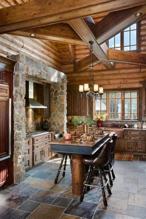 Interior Pictures Of Log Homes Log Cabin Homes Exterior Interior Furniture And Decor Ideas