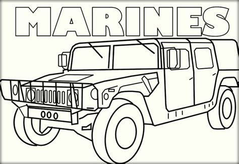 Marine Corps Coloring Pages Color Zini Marine Coloring Pages