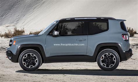 jeep renegade  door rendering autoevolution