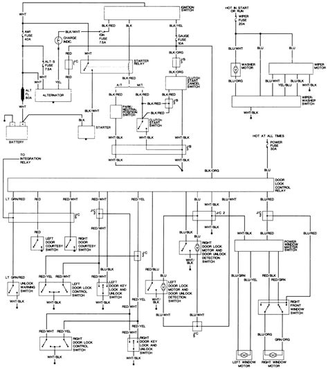 96 toyota t100 wiring diagram 96 get free image about